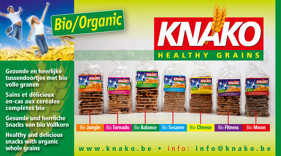 KNAKO Healthy Grains - Bio Jungle, Bio Tornado, Bio Balance, Bio Sesame, Bio Cheese, Bio Fitness, Bio Moon